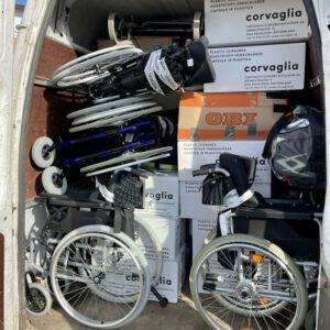 Transporter Rollstühle