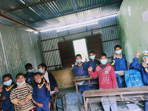 Menschenfreude Schulsanierung Nepal
