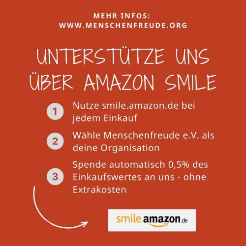 Menschenfreude bei Amazon Smile so gehts